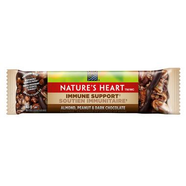 NATURE\'S HEART Almond, Peanut & Dark Chocolate Nut Bar