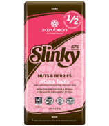 Zazubean Slinky Nuts and Berries Dark Chocolate