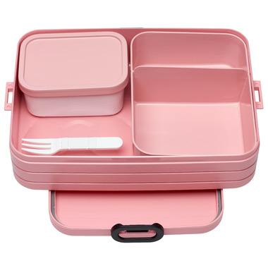 Mepal Bento Lunchbox Take A Break Large Nordic Pink