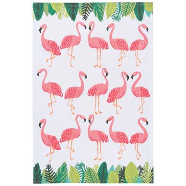 Now Design Flamingos Printed Tea Towel
