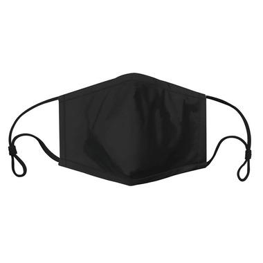 Harman Adult Face Mask Solid Black
