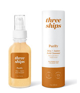 Three Ships Purify Aloe + Amino Acid Cleanser