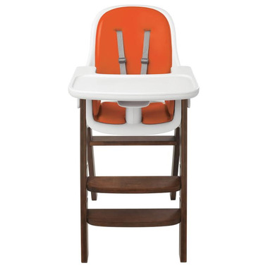 OXO Tot Sprout High Chair Orange/Walnut