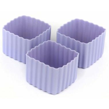 Little Lunch Box Co. Bento Cups Square Purple