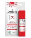 ATTITUDE SPF30 Adult Face Stick Fragrance Free