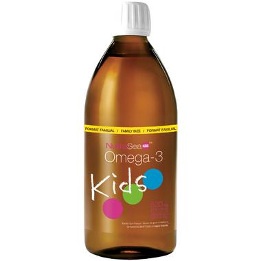 NutraSea Kids Omega-3 + Vitamin D Liquid