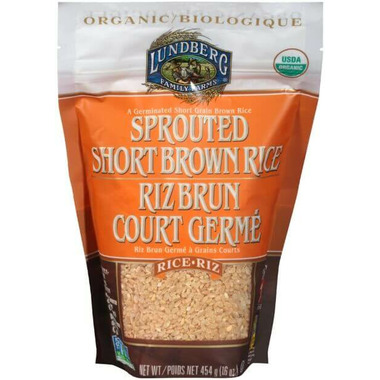 Lundberg Organic Sprouted Short Brown Rice