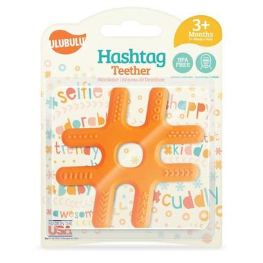 Ulubulu #Hashtag Teether Orange