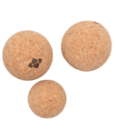 Halfmoon Natural Cork Massage Ball Trio
