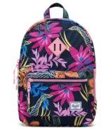 Herschel Supply Heritage Youth Backpack Jungle Floral Peacoat Peony