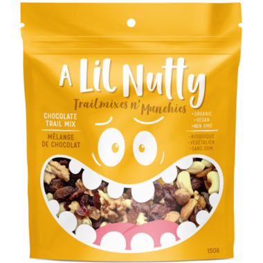 A Lil Nutty Chocolate Trail Mix