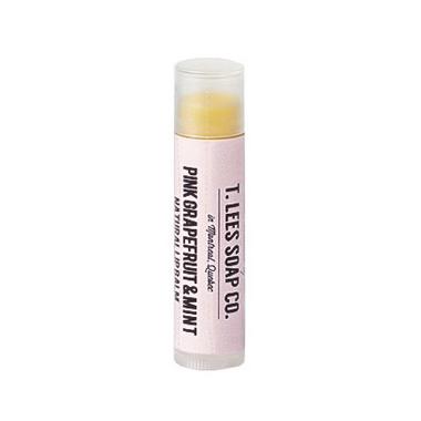 T. Lees Soap Co. Pink Grapefruit & Mint Lip Balm