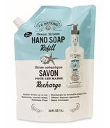 Recharge de savon liquide pour les mains J.R. Watkins Ocean Breeze