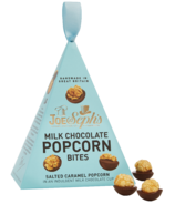 Joe & Sephs Milk Chocolate Popcorn Bites Baubles