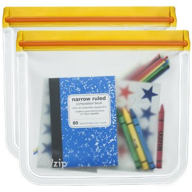 (re)zip Lay-Flat Reusable Lunch Bags Orange