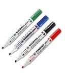 Stabilo Plan 64 Broad Whiteboard Markers