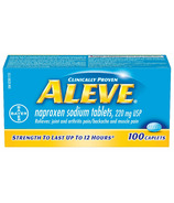 Aleve 220 mg Large Bottle