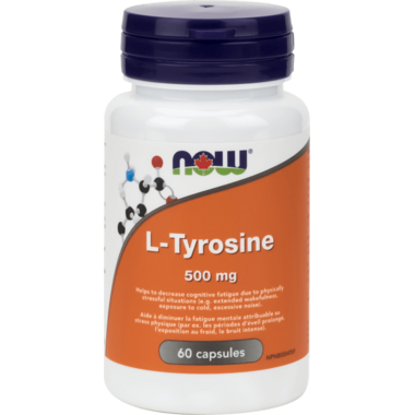 NOW Foods L-Tyrosine 500 mg