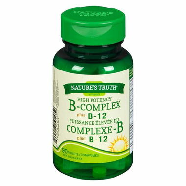 Nature\'s Truth High Potency B-Complex plus B-12