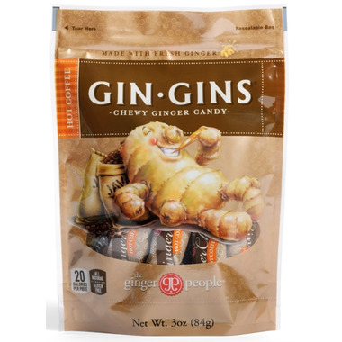 Gin Gins Hot Coffee Chewy Ginger Candy
