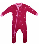 ZippyJamz Organic Cotton Footed Sleeper Dandelion Wishes