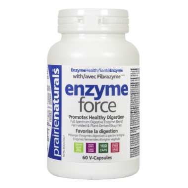 Prairie Naturals Enzyme-Force with Fibrazyme