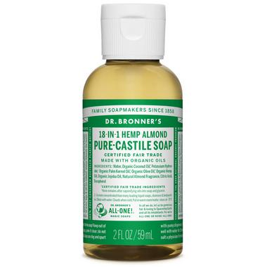 Dr. Bronner\'s Organic Pure Castile Liquid Soap Almond 2 Oz
