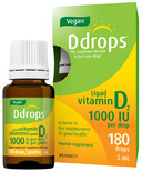 Vegan Ddrops Liquid Vitamin D2