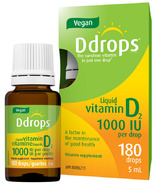 Vegan Ddrops Liquid Vitamin D2