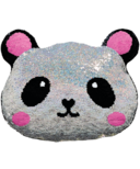 iScream Panda Reversible Sequin Pillow