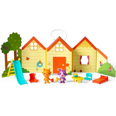 Sago Mini Portable Playset Jinja\'s House
