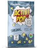 ActivPOP Original Popcorn with Activated Charcoal Infused Sea Salt