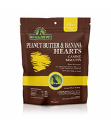My Healthy Pet Dog Treats Peanut Butter Banana Hearts