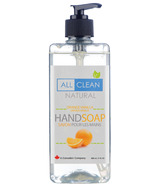 All Clean Natural Orange Vanilla Handsoap
