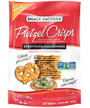 Snack Factory Pretzel Crisps Everything Deli Style
