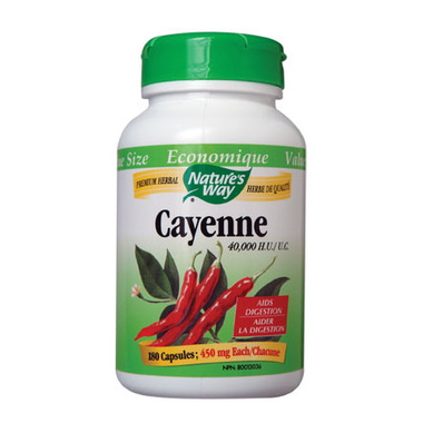 Nature\'s Way Cayenne 40,000 HU