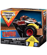 Monster Jam Official Soldier ZOMBIE Rev 'N Roar Monster Truck