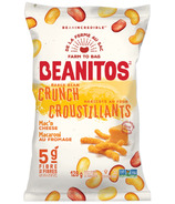 Beanitos White Bean Crunch Mac N' Cheese Bean Chips