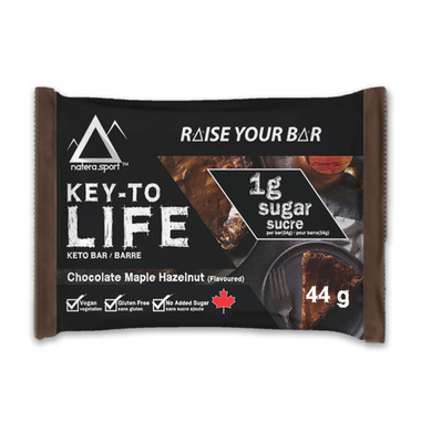 Key-To Life Keto Bar Chocolate Maple Hazelnut