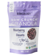 Rawcology Raw Crunch Granola Blueberry with Acai