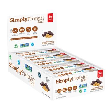 Simply Protein Bar Chocolate Caramel Case