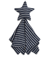 aden+anais Snuggle Knit Lovey Blanket Navy Stripe