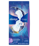 Always Infinity Extra Heavy Overnight Pads with Wings