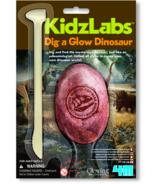 4M Kidz Labs Dig A Glow Dinosaur