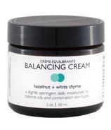 Crawford Street Crème visage équilibrante Noisette & Thym blanc