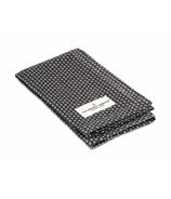 The Organic Company Kitchen and Wash Cloth Dark Grey Pique