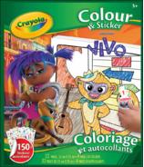 Crayola Vivo Colour and Sticker Book