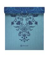 Tapis de yoga Gaiam 6mm Premium à impression réversible Mystic