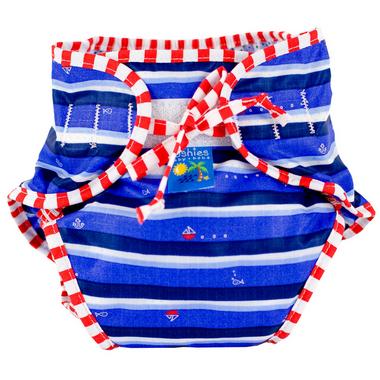 Kushies Washable Swim Diaper Ahoy