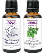 NOW Essential Oils Holiday Duo Set